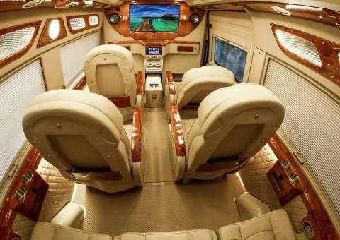 skybus xe hạng thương gia limousine