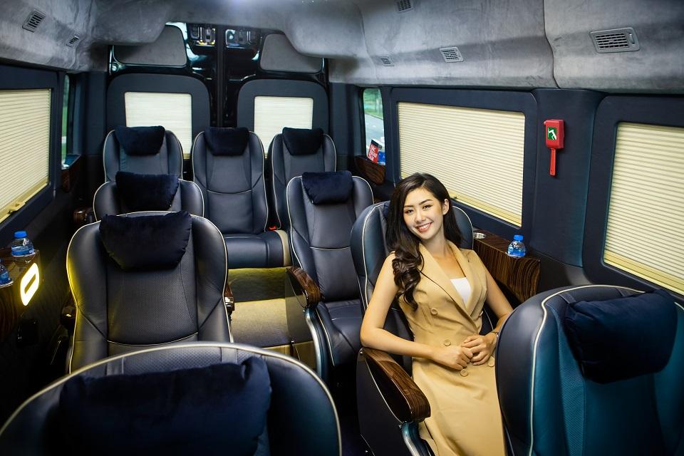 SKYBUS solati XLL - Limousine 12 chỗ hạng thương gia