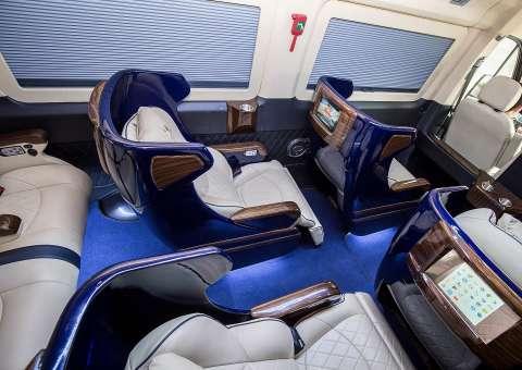 ghế vip massage xe Solati Limited Edition