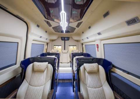 Nội thất xe Solati Limousine Limited Edition