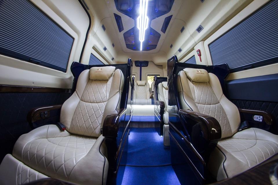 Solati Limousine Limited Edition 2019 nội thất