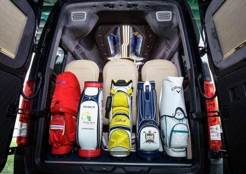 Khoang hành lý Solati Limousine ghế điện SKYBUS Special