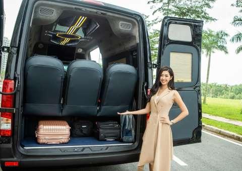 Cốp hành lý Solati Limousine 12 chỗ
