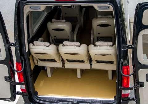 Cốp hành lý Solati Limousine 10 chỗ