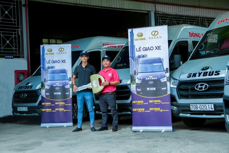 Giao xe Skybus Solati PRO - Đồng Phước Limousine