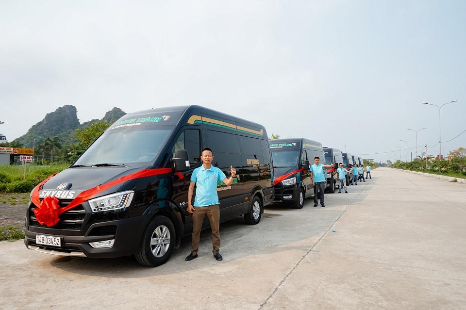 Xe limousine Skybus solati Bold - nha xe Trung Thanh