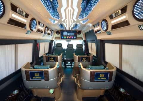 Skybus Limited - Solati Limosuine ghế VIP chỉnh điện 8