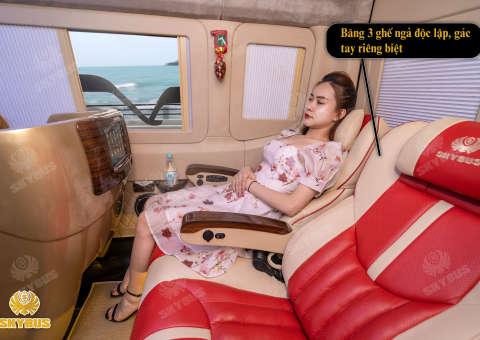 Skybus Limited - Solati Limosuine ghế VIP chỉnh điện 17