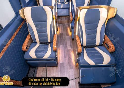 Skybus Limited - Solati Limosuine ghế VIP chỉnh điện 26