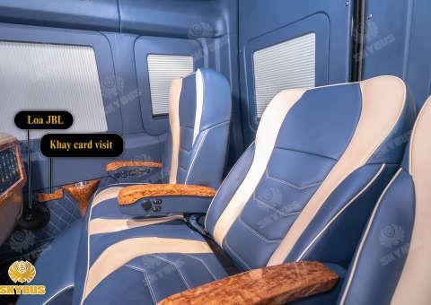 Skybus Limited - Solati Limosuine ghế VIP chỉnh điện 24