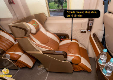 Skybus Limited - Solati Limosuine ghế VIP chỉnh điện 10
