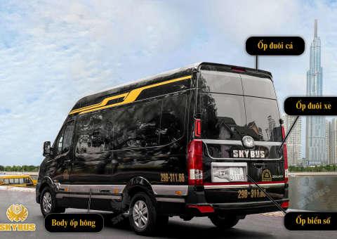 Skybus Limited - Solati Limosuine ghế VIP chỉnh điện 2