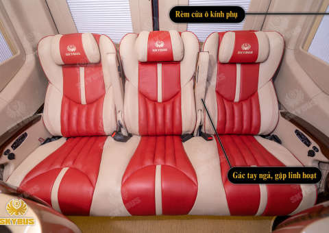 Skybus Limited - Solati Limosuine ghế VIP chỉnh điện 19