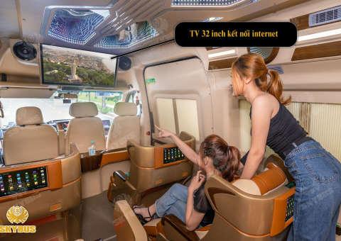 Skybus Limited - Solati Limosuine ghế VIP chỉnh điện 15